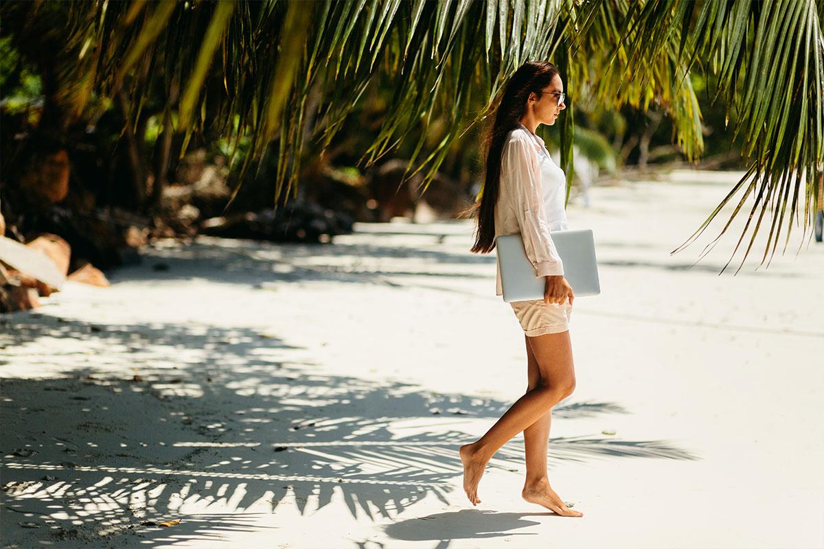 woman-chill-beach